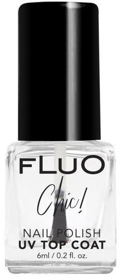 Glänzender Nagelüberlack mit UV-Filter - Constance Carroll Fluo Chic UV Top Coat