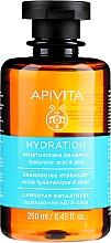 Düfte, Parfümerie und Kosmetik Feuchtigkeitsspendendes Shampoo mit Hyaluronsäure und Aloe - Apivita Moisturizing Shampoo With Hyaluronic Acid & Aloe