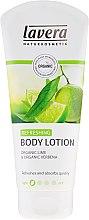 Düfte, Parfümerie und Kosmetik Erfrischende Körperlotion mit Bio Limette und Bio Verbene - Lavera Refreshing Body Lotion Vartalovoide