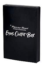 Düfte, Parfümerie und Kosmetik Make-up Set (Wimperntusche 15ml + Eyeliner 2,5ml + Augenkonturenstift 0,35g) - Pierre Rene Outfit Eyes Box