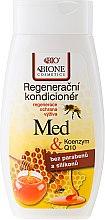 Düfte, Parfümerie und Kosmetik Regenerierende und schützende Haarspülung mit Honig und Coenzym Q10 - Bione Cosmetics Honey + Q10 Condiceoner