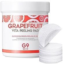 Düfte, Parfümerie und Kosmetik Peeling-Pads zur Hautreinigung mit Grapefruit - G9Skin Grapefruit Vita Peeling Pad