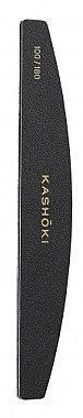 Doppelseitige Nagelfeile Halbmond 100/180 - Kashoki