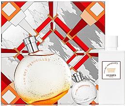Düfte, Parfümerie und Kosmetik Hermes Eau Des Merveilles - Duftset (Eau de Toilette 100ml + Eau de Toilette Mini 7,5ml + Körperlotion 40ml)