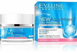 Düfte, Parfümerie und Kosmetik Extra feuchtigkeitsspendende Tagescreme-Gel - Eveline Cosmetics Aqua Hybrid Gel