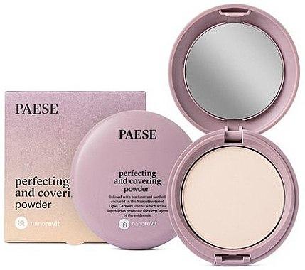 Mattierender Kompaktpuder für das Gesicht - Paese Perfecting & Covering Nanorevit Powder