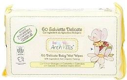 Düfte, Parfümerie und Kosmetik Feuchttücher für Babys 60 St. - Anthyllis Cleansing Wipes