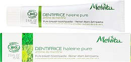 Düfte, Parfümerie und Kosmetik Zahnpasta für den frischen Atem - Melvita Dentifrice Pure Breath Toothpaste