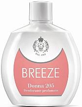 Düfte, Parfümerie und Kosmetik Breeze Squeeze Deodorant Donna 205 - Parfümiertes Deospray