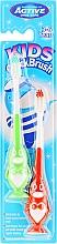 Düfte, Parfümerie und Kosmetik Kinderzahnbürste 3-6 Jahre Pinguin rot, grün 2 St. - Beauty Formulas Kids Quick Brush