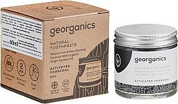 Düfte, Parfümerie und Kosmetik Natürliche Zahnpasta mit Aktivkohle - Georganics Activated Charcoal Natural Toothpaste