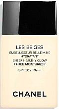 Düfte, Parfümerie und Kosmetik Feuchtigkeitsspendende Foundation LSF 30 - Chanel Les Beiges Sheer Healthy Glow SPF 30/PA++