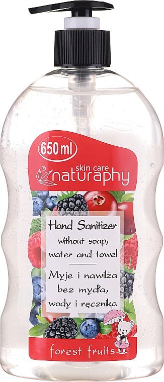 Antibakterielles Handgel mit Waldfrüchten - Bluxcosmetics Naturaphy Forest Fruits Hand Sanitizer