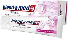 Düfte, Parfümerie und Kosmetik Aufhellende Zahnpasta - Blend-a-Med 3D White Whitening Therapy Sensitive