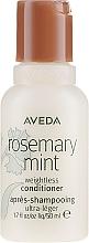 Düfte, Parfümerie und Kosmetik Conditioner mit Minze und Rosmarin - Aveda Rosemary Mint Weightless Conditioner
