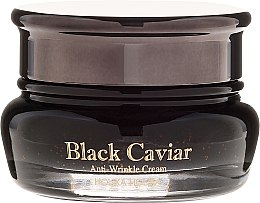 Düfte, Parfümerie und Kosmetik Anti-Falten Gesichtscreme mit schwarzem Kaviar - Holika Holika Black Caviar Anti-Wrinkle Cream