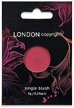 Düfte, Parfümerie und Kosmetik Gesichtsrouge - London Copyright Magnetic Face Powder Blush