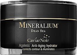 Düfte, Parfümerie und Kosmetik Feuchtigkeitsspendende Anti-Aging Gesichtscreme mit schwarzem Kaviar - Mineralium Caviar Noir Anti-Aging Hydrator