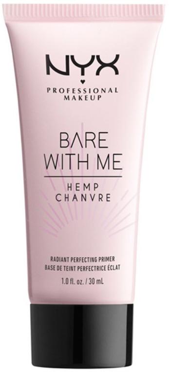Feuchtigkeitsspendender Primer mit Hanfsamenöl aus Cannabis gegen Hautunvollkommenheiten - NYX Professional Makeup Bare With Me Hemp Radiant Perfecting Primer