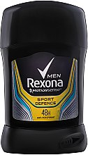 "Düfte, Parfümerie und Kosmetik Antiperspirant Deodorant Stick für Männer ""Sport Defence"" - Rexona Deodorant Stick"