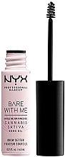Düfte, Parfümerie und Kosmetik Augenbrauengel - NYX Professional Bare With Me Hemp Brow Setter