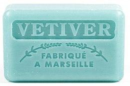 Düfte, Parfümerie und Kosmetik Handgemachte Naturseife Vetiver - Foufour Savonnette Marseillaise Vetiver