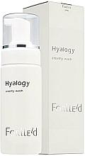 Düfte, Parfümerie und Kosmetik Leichter Gesichtsreinigungsschaum der zweiten Phase der Hautreinigung mit Kokosölderivaten - ForLLe'd Hyalogy Creamy Wash