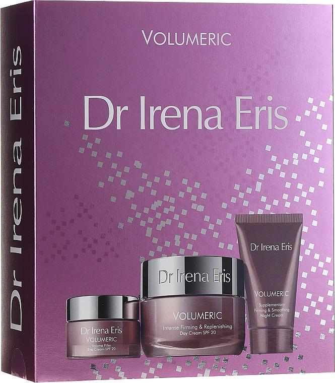 Gesichtspflegeset - Dr Irena Eris Volumeric (Tagescreme 50ml + Nachtcreme 30ml + Augenkonturcreme 15ml)
