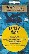 Düfte, Parfümerie und Kosmetik Peelingmaske für das Gesicht mit Hyaluronsäure und Meeresalgen - Perfecta Express Mask