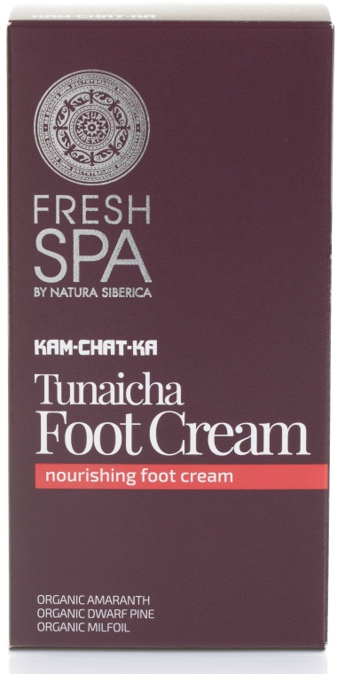 Tief pflegende Hand- und Fußcreme - Natura Siberica Fresh Spa Kam-Chat-Ka Tunaicha Foot Cream — Bild N1