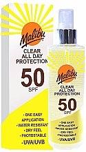Düfte, Parfümerie und Kosmetik Sonnenspray - Malibu Clear All Day Protection SPF 50