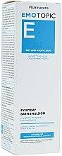 Badeemulsion für trockene und atopische Haut - Pharmaceris E Emotopic Everyday Bath Emulsion — Bild N2