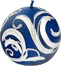 Düfte, Parfümerie und Kosmetik Dekorative Kerze Ball blau 8 cm - Artman Christmas Ornament