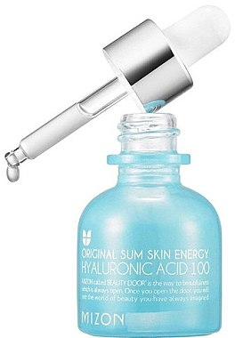 Feuchtigkeitsspendendes und pflegendes Anti-Falten Gesichtsserum mit Hyaluronsäure - Mizon Hyaluronic Acid 100