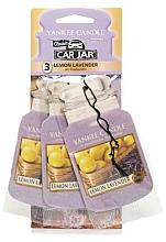 "Düfte, Parfümerie und Kosmetik Auto-Lufterfrischer ""Lemon & Lavender"" 3 St. - Yankee Candle Fluffy Lemon Lavender Jar Ultimate"