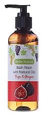 Düfte, Parfümerie und Kosmetik Duschgel mit Feigenbaum und Trauben - Belle Nature Bath Wash Figs&Grapes