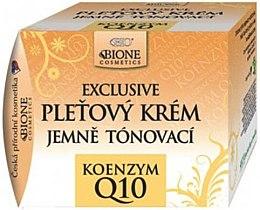 Düfte, Parfümerie und Kosmetik Belebende Gesichtscreme mit Arganöl und Coenzym Q10 - Bione Cosmetics Exclusive Gentle Toning Facial Cream With Argan Oil Q10