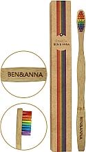 Düfte, Parfümerie und Kosmetik Bambuszahnbürste - Ben&Anna Bamboo Toothbrush