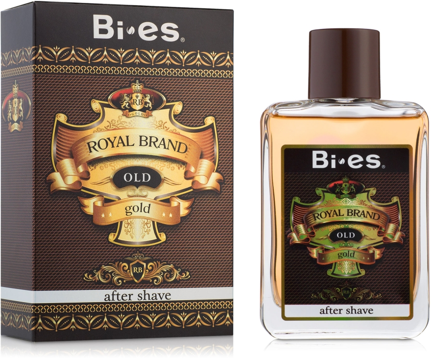 Bi-Es Royal Brand Gold - After Shave