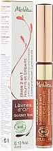 Düfte, Parfümerie und Kosmetik 2in1 Pflegender Lipgloss-Balsam - Melvita L'Or Bio