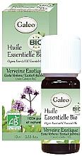 Düfte, Parfümerie und Kosmetik Organisches ätherisches Öl mit Eisenkraut - Galeo Organic Essential Oil Exotic Verbena