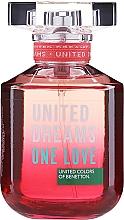 Düfte, Parfümerie und Kosmetik Benetton United Dreams One Love - Eau de Toilette