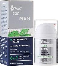 Düfte, Parfümerie und Kosmetik Feuchtigkeitsspendender After Shave Balsam 6in1 - Ava Laboratorium Eco Men Lotion