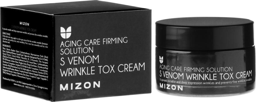 Anti-Aging Gesichtscreme gegen Falten - Mizon S-Venom Wrinkle Tox Cream