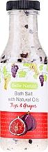 Düfte, Parfümerie und Kosmetik Badesalz Feigen & Trauben - Belle Nature Bath Salt