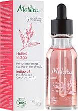 Düfte, Parfümerie und Kosmetik Haaröl - Melvita Organic Pre-Shampoo Indigo Oil