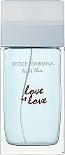 Düfte, Parfümerie und Kosmetik Dolce & Gabbana Light Blue Love is Love Pour Femme - Eau de Toilette