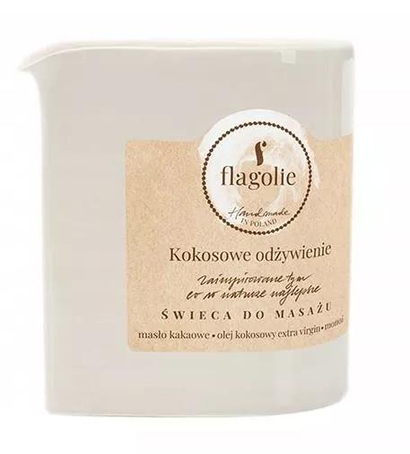 Massagekerze Coconut Nutrition - Flagolie Coconut Nutrition Massage Candle