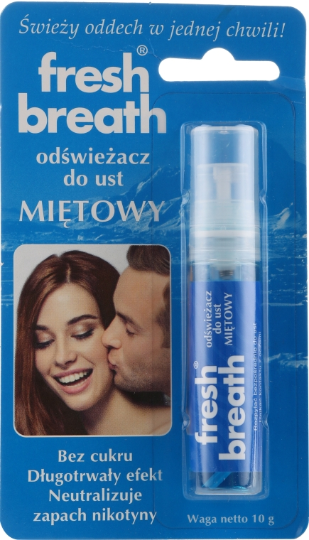 Erfrischendes Mundspray mit Minze - Fresh Breath