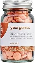 Düfte, Parfümerie und Kosmetik Mundwassertabletten mit Orange - Georganics Mouthwash Tablets Orange